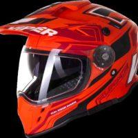 VIPER RXV288 Double Visor Enduro - Flame Matt Orange