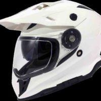 VIPER RXV288 Double Visor Enduro - White