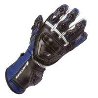 Spada Leather Gloves Curve Blue