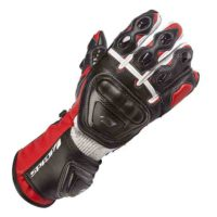 Spada Leather Gloves Curve Red