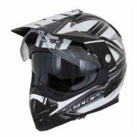 Spada Helmet Intrepid Mirage White/Grey/Black