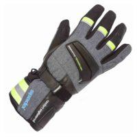 Spada Leather Gloves Latour WP Black/Flo