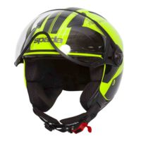 Spada Helmet Hellion Twist Yellow