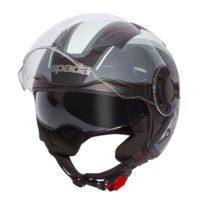 Spada Helmet Lycan Strobe Matt Black/White