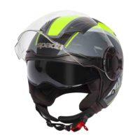 Spada Helmet Lycan Strobe Matt Black/Yellow