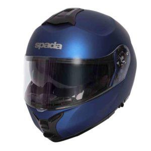 Spada Helmet Orion Matt Blue, flip up motorcycle helmet