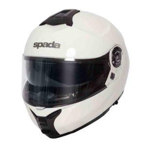 Spada Helmet Orion White - Flip Up Motorcycle Helmet