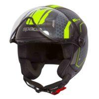 Spada Helmet Hellion Arrow Matt Blk/Flo