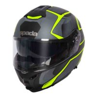 Spada Helmet Orion Slate Matt Black/Yellow