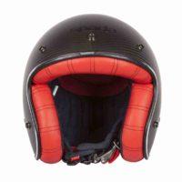 Spada Helmet Dark Star Carbon [Interior Red]