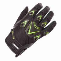 Spada Leather Gloves CE Air Pro Black/Flo