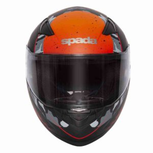 Spada Helmet Raiden Camo Orange - Full Face Motorcycle Helmet